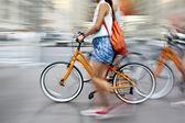 Alternative ecological clean transport — Stockfoto
