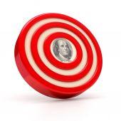 Financial Target — Stock Photo