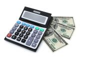 Financial Calculating — Stock Photo