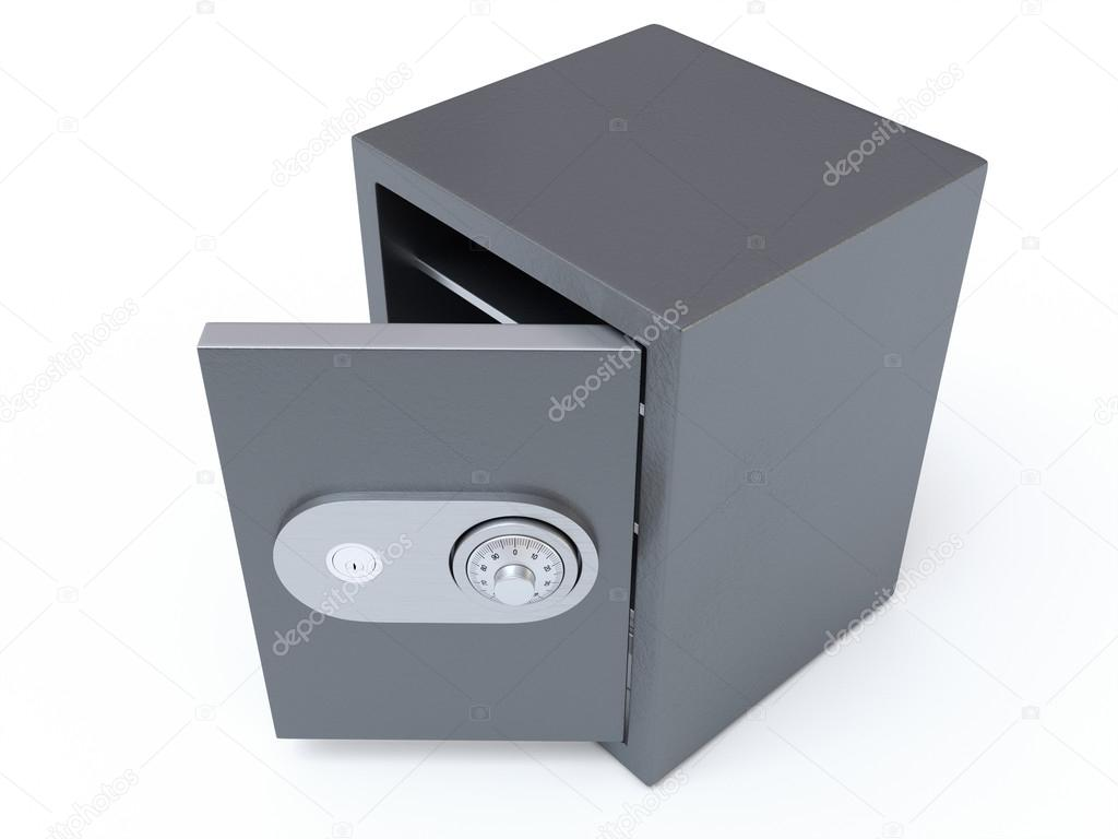 Opened Safe — Stock Photo © CGinspiration #56255203