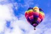 Hot Air Balloon Festival — Stock Photo