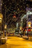 Holiday Lights in Denver Colorado USA — Stock Photo