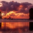 Sunset at Cannon Beach Oregon — Zdjęcie stockowe #71047061