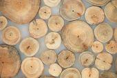木製の茶色の背景 — ストック写真