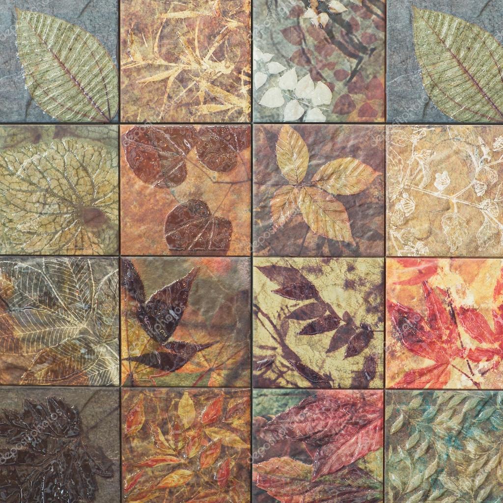 Ceramic wall tile patterns