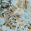 Abstract corroded colorful wallpaper grunge background iron rusty artistic wall peeling paint. — Stock Photo #70969281