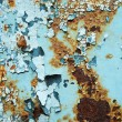Abstract corroded colorful wallpaper grunge background iron rusty artistic wall peeling paint. — Stock Photo #70969473