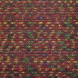 Colorful thai silk handcraft peruvian style rug surface close up More this motif & more textiles peruvian stripe beautiful background tapestry persian nomad detail pattern farabic fashionable textile. — Stock Photo #80149342