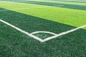 Corner of Football Field — Stock Photo