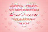 Valentine or Love Background in Heart Shape — Stock Photo