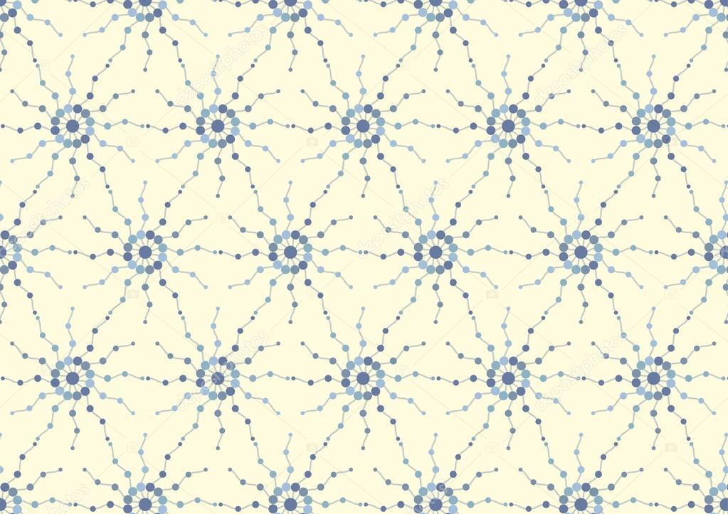 Abstract plasma ball pattern