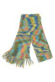 Long multicolored scarf — Foto de Stock