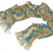 Long  multicolored scarf — Stock Photo #59226595