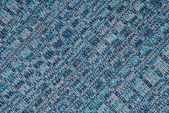 Piece of blue knitted cloth — Stock Photo