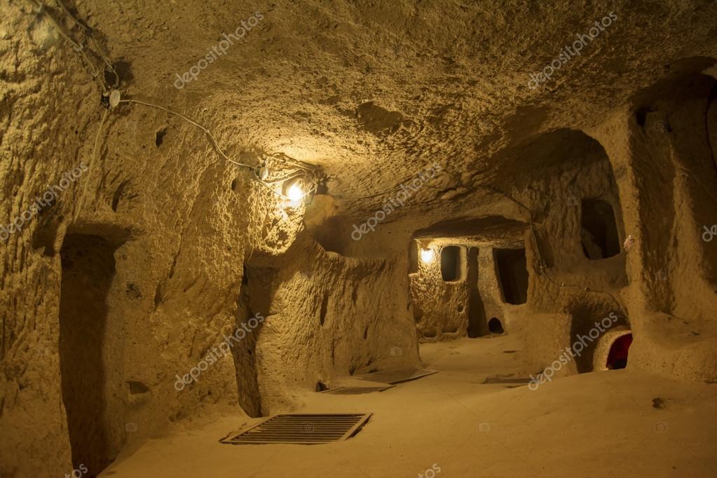Risultati immagini per grotta sotterranea turchia, Nevsehir