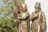 Ottoman Pasha And Janissary — Stock Photo