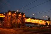 Branko's Bridge, Belgrade, Serbia — Stock Photo