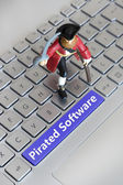 Pirated Software — Stock Photo