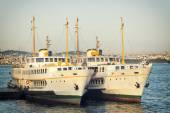 Passenger Ferries, Istanbul, Turkey — Zdjęcie stockowe