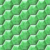 Hexacomb tiling seamless generated texture — 图库照片