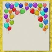 партия писчей бумаги шары мраморные текстуры фона — Стоковое фото