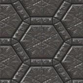 Contratações sem costura ornamentos maia gerado textura — Foto Stock
