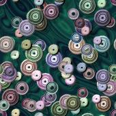 Sprockets seamless generated hires texture — Foto de Stock
