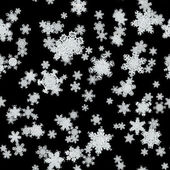 Snowfall generated texture — Stock Photo