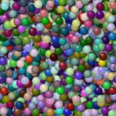 Balls seamless generated hires texture — Stock Photo