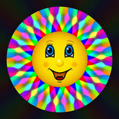 Happy bloom sun — Stock Photo