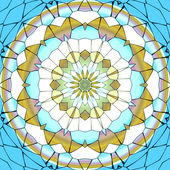 Mandala ornament generated texture — Stock Photo