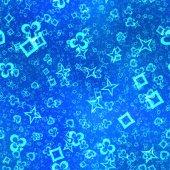 Neon shape symbols generated seamless texture — Stockfoto