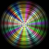 Color disc generated hires texture — Stock Photo