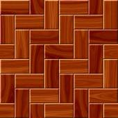 Wood floor pattern seamless generated hires texture — Foto Stock