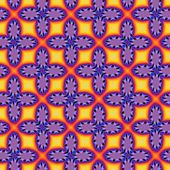 Fractal floral pattern — Stock Photo