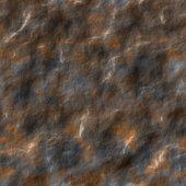 Wet stone seamless generated texture — Stock Photo