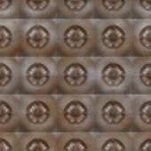 Rusted iron plate seamless generated texture — Stock Photo