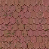 Old roof seamless generated texture — Stock Photo