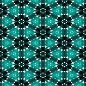 Caleidoscopische mozaïek patroon naadloze gegenereerd textuur — Stockfoto