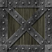 Armoured box generated texture — Stockfoto