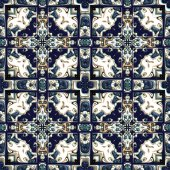 Glazed tiles seamless generated texture — Stock Photo