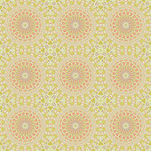 Wallpaper ornament floral seamless generated texture — Stock Photo