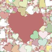 Forma di cuore San Valentino amore — Foto Stock