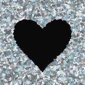 Love heart Valentine shape — Stock Photo
