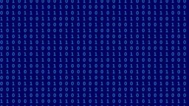 Computer data flow seamless loop video — Stock Video
