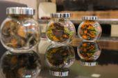 Recipiente de vidro — Fotografia Stock