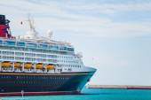 SEPTEMBER 8, 2014: Cruise liner Disney Magic at Port of Malaga, — Foto Stock