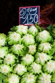 Lettuces at market. — Stock Photo