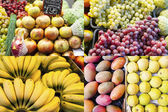 Assorted fruit composition from the fruit. market — Foto de Stock