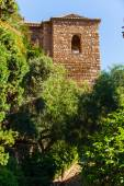 Alcazaba of Malaga in Andalusia, Spain. — Stock Photo